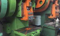 100 tonluk çelik gövde eksantrik pres